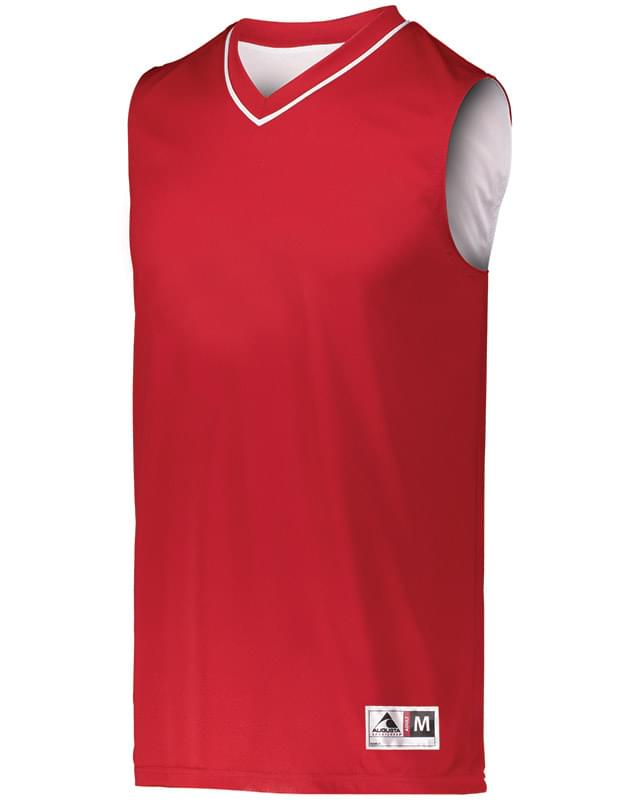 Adult Reversible Two-Color Sleeveless Jersey