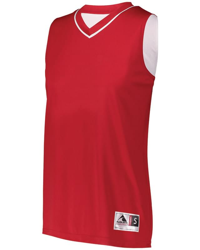 Ladies' Reversible Two-Color Sleeveless Jersey