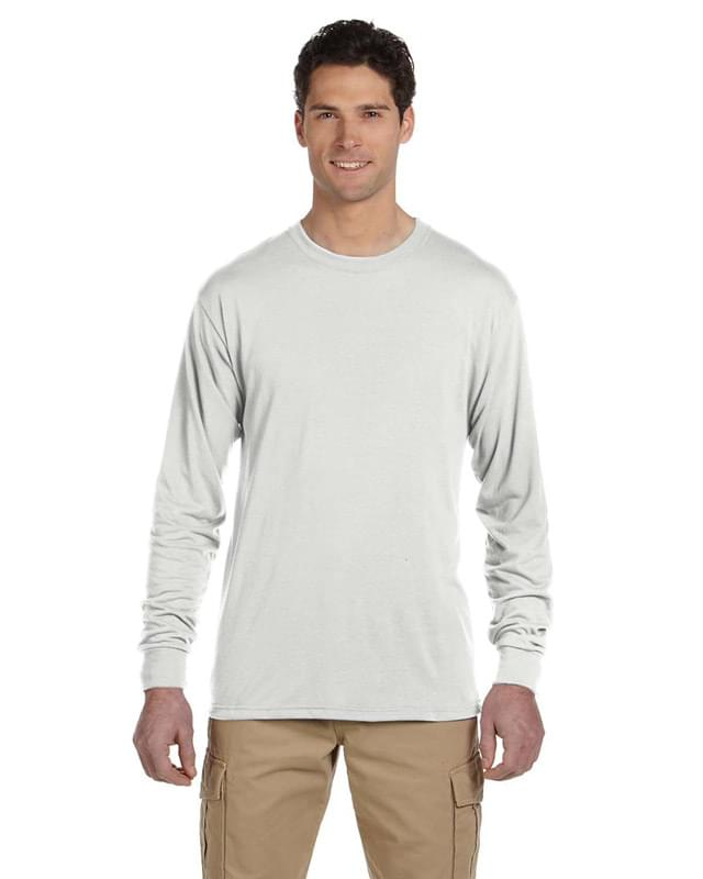 Adult 5.3 oz. DRI-POWER? SPORT Long-Sleeve T-Shirt