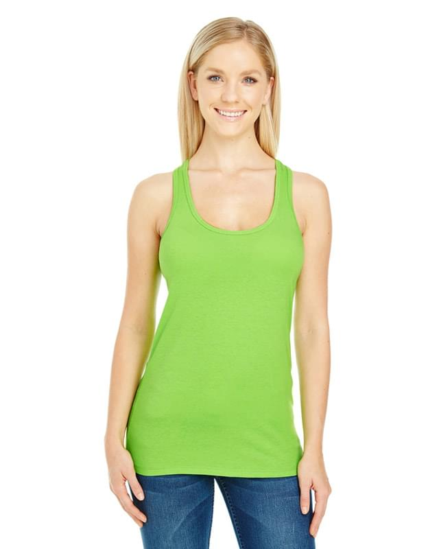 Ladies' Spandex Performance Racer Tank