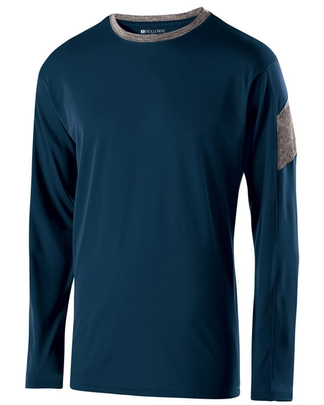 Adult Polyester Long Sleeve Electron Shirt