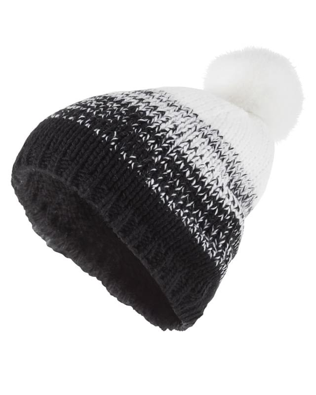 Acrylic Rib-Knit Ascent Beanie