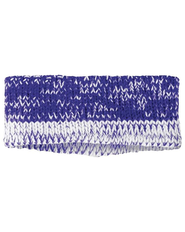 Acrylic Rib-Knit Ombre Ascent Headband