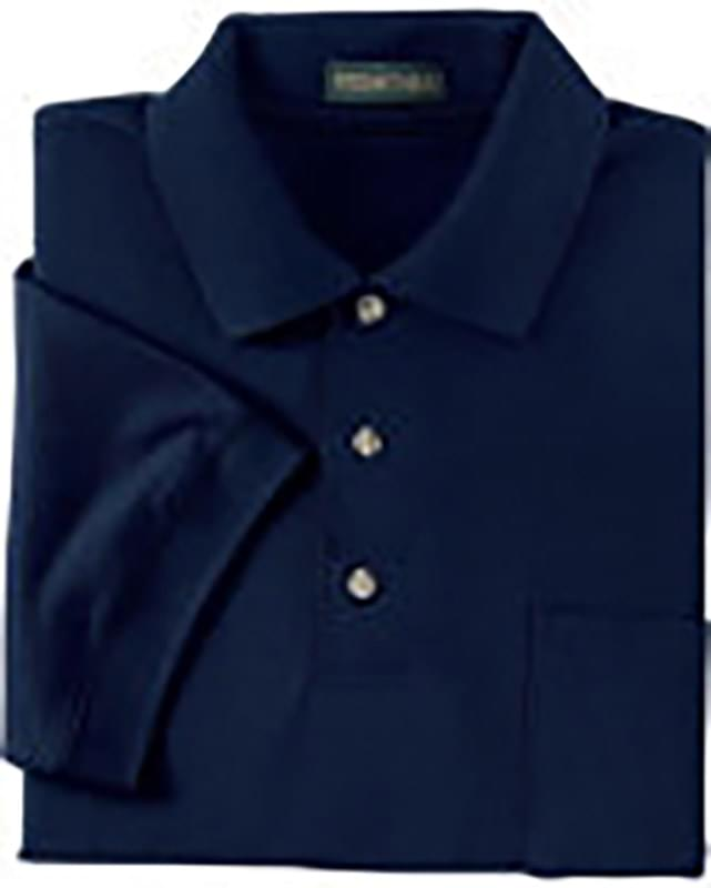 Men's Piqu Polo With Pocket