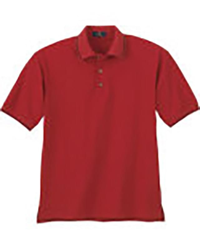 MEN'S VARIEGATED RIBBON PIQUE POLO