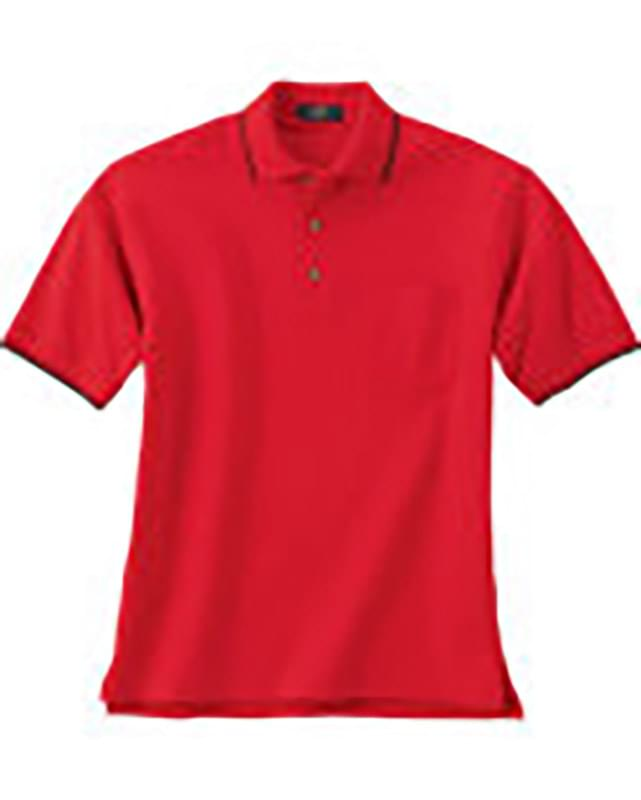 MEN'S JERSEY POLO WITH POCKET