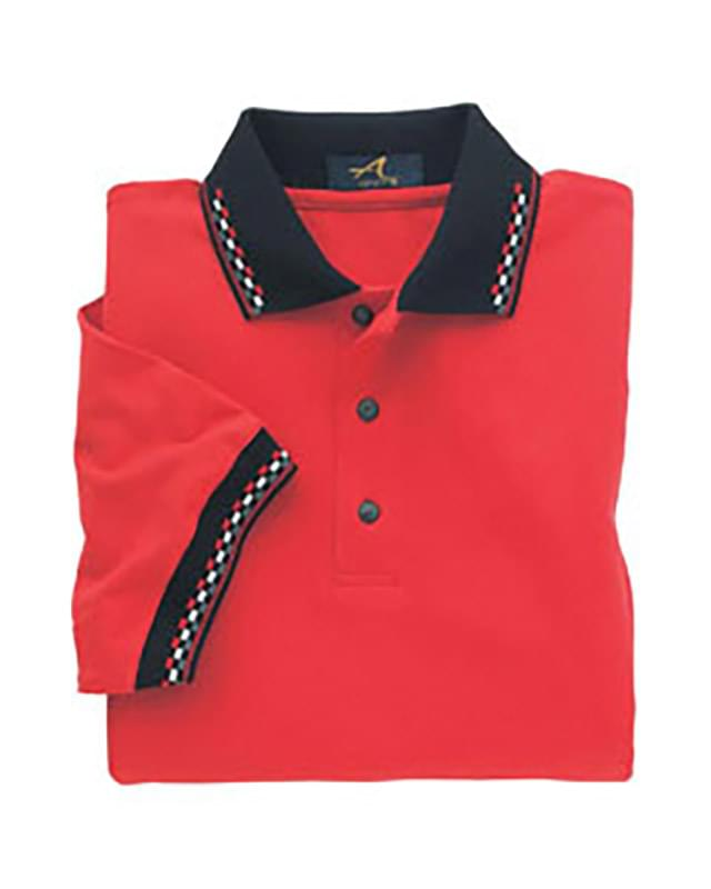 Men's Winner Circle Jersey Golf Polo