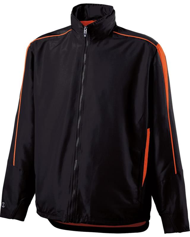 Adult Polyester Full Zip Hooded Aggression Jacket