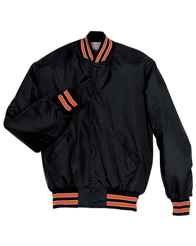 Adult Polyester Full Snap Heritage Jacket