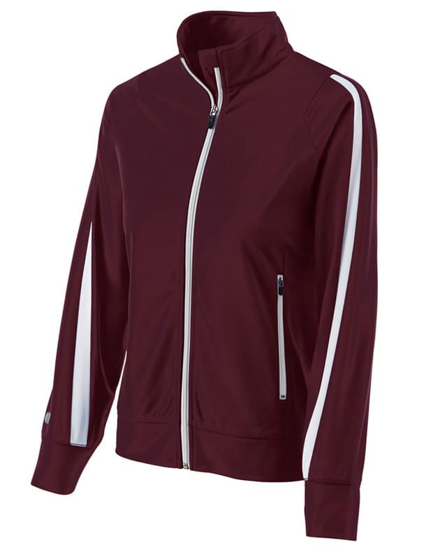 Ladies Polyester Full Zip Determination Jacket