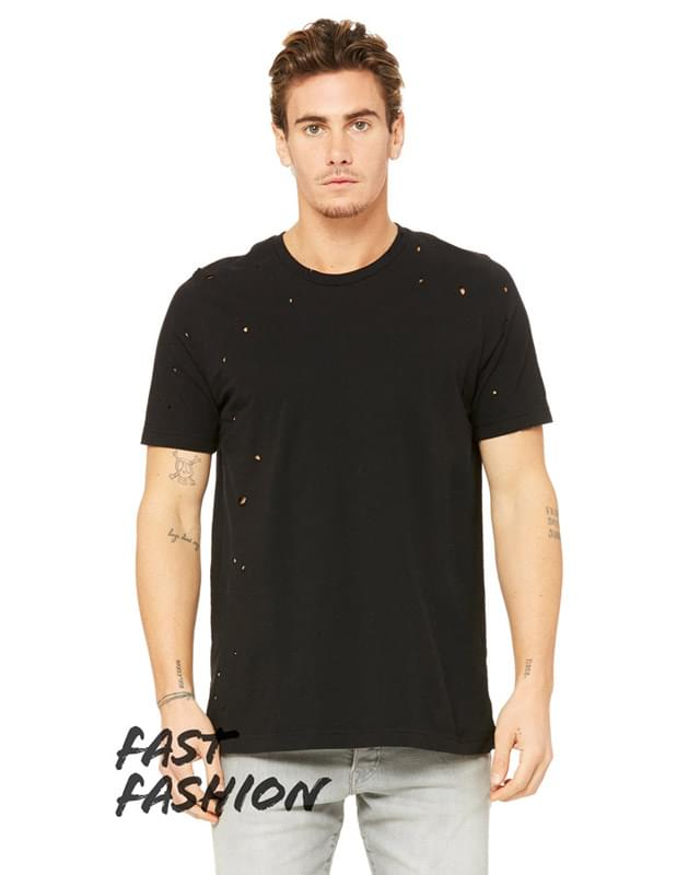 Fast Fashion Unisex Vintage Distressed T-Shirt