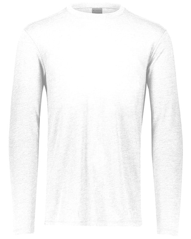 Adult 3.8 oz., Tri-Blend Long Sleeve T-Shirt