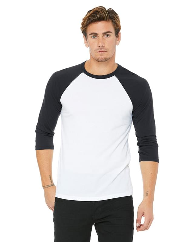 Unisex 3/4-Sleeve Baseball T-Shirt