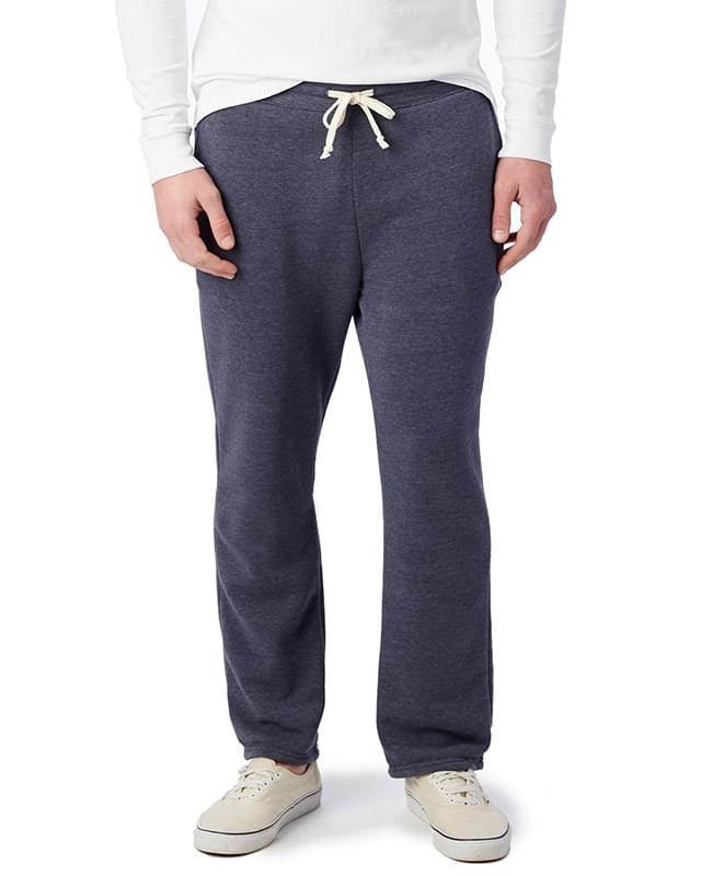 Unisex Hustle Eco-Fleece Open Bottom Sweatpants