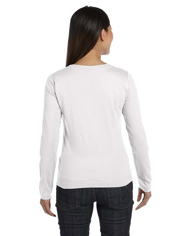 Ladies' Premium Jersey Long-Sleeve T-Shirt