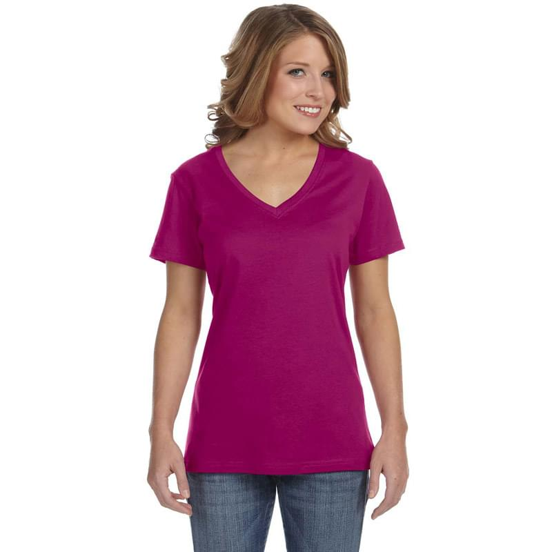 Ladies' Featherweight V-Neck T-Shirt