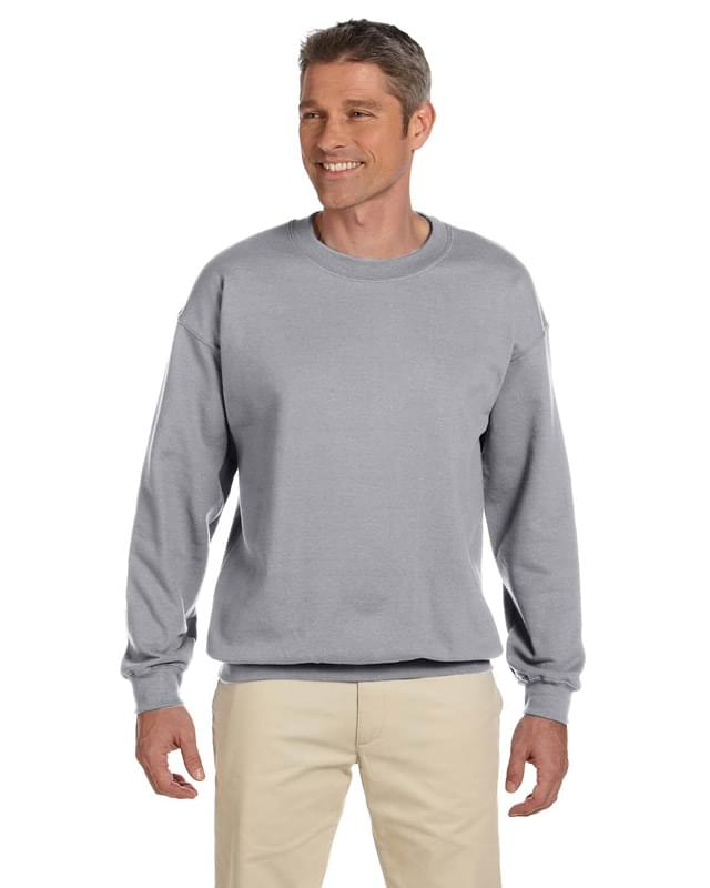 Adult 9.5 oz. Super Sweats NuBlend Fleece Crew