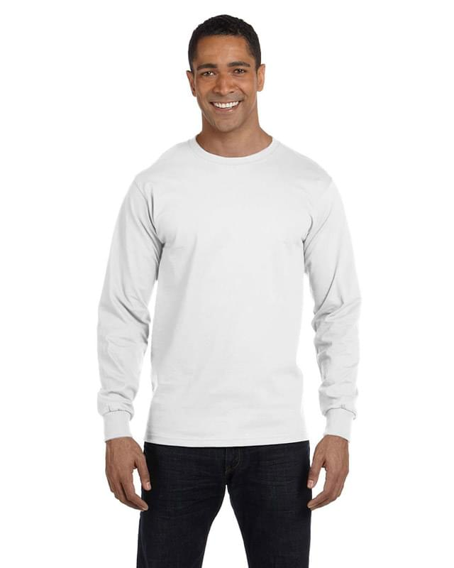 Men's 5.2 oz. ComfortSoft? Cotton Long-Sleeve T-Shirt