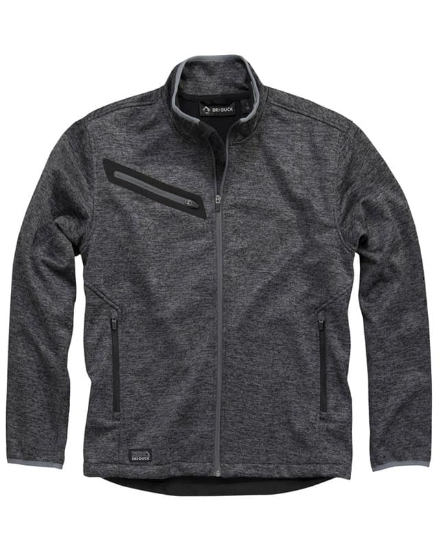 Atlas Bonded M�lange Sweater Fleece Jacket
