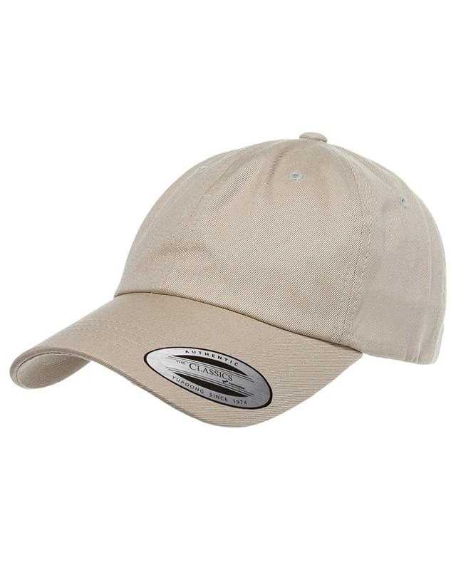 Adult Low-Profile Cotton Twill Dad Cap