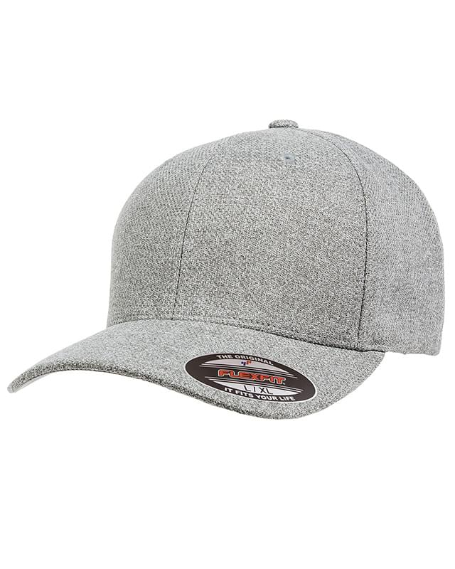 Adult Poly Mlange Heather Stretch Cap