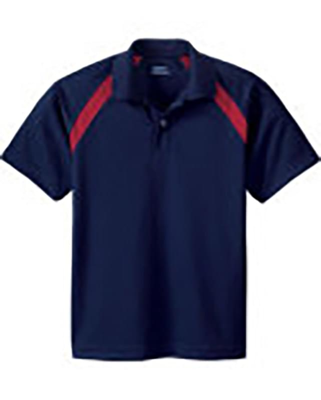 Youth Eperformance Color-Block Piqu Polo