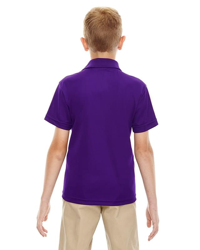 Youth Eperformance Shield Snag Protection Short-Sleeve Polo