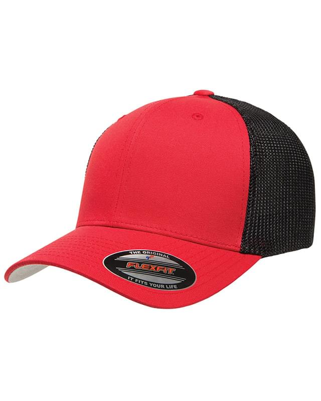 Adult 6-Panel Trucker Cap