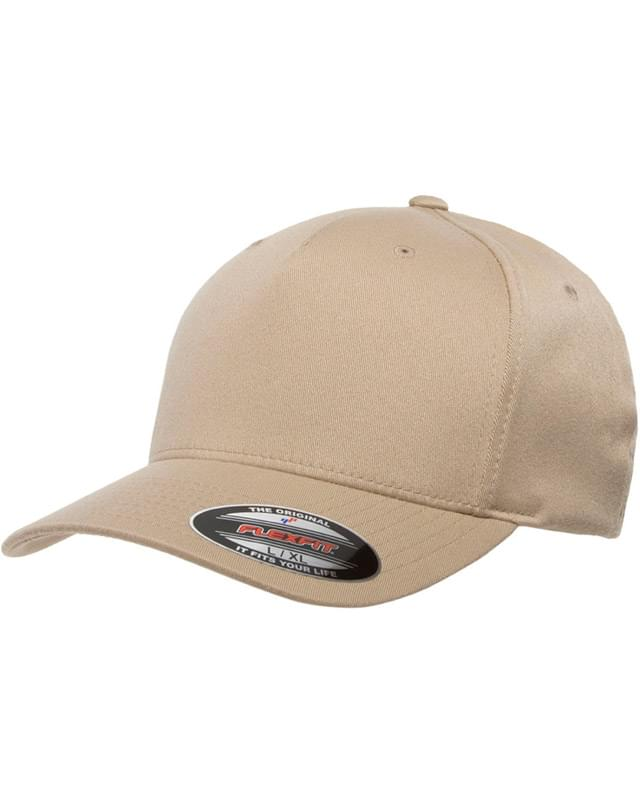 Adult 5-Panel Poly-Twill Cap