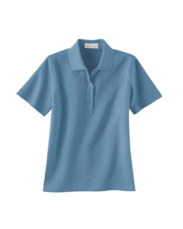 Ladies' Argyle Micro Pima Polo