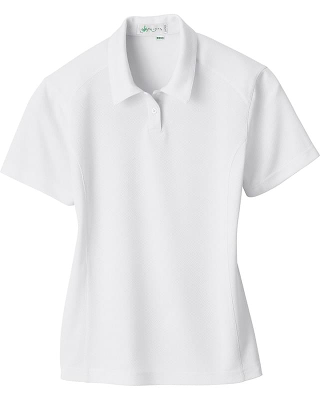 Ladies' Recycled Polyester Performance Birdseye Polo