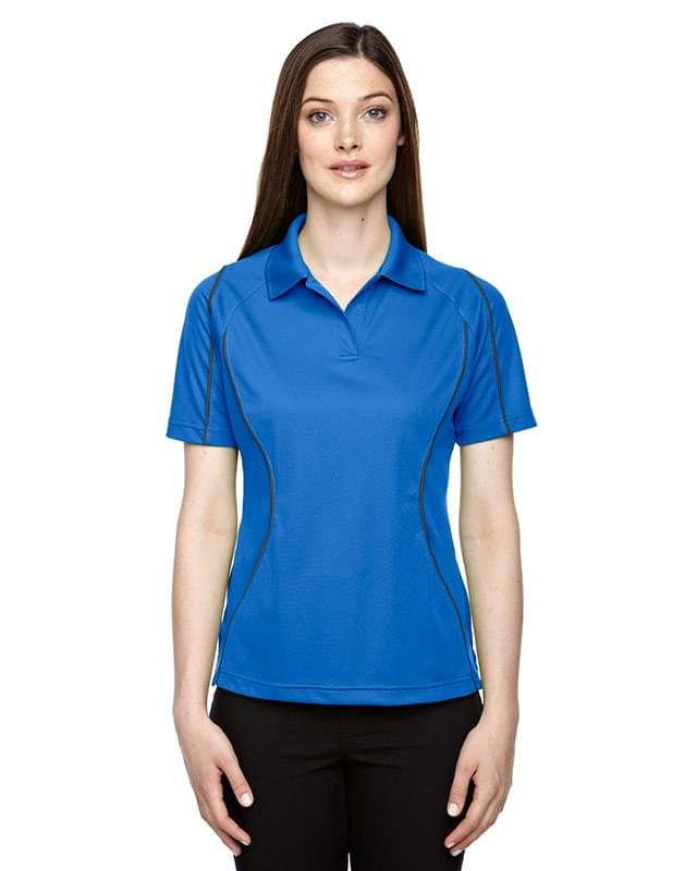 Ladies' Eperformance Velocity Snag Protection Colorblock Polo with Piping