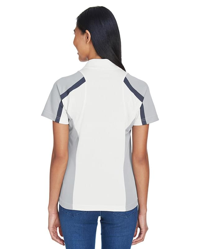 Ladies' Eperformance Strike Colorblock Snag Protection Polo