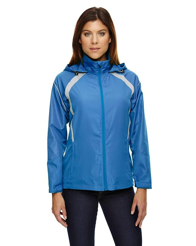 Ladies' Sirius Lightweight Jacket with Embossed Print