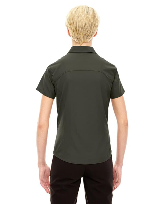 Charge Recycled Polyester Performance Short-Sleeve Shirt
