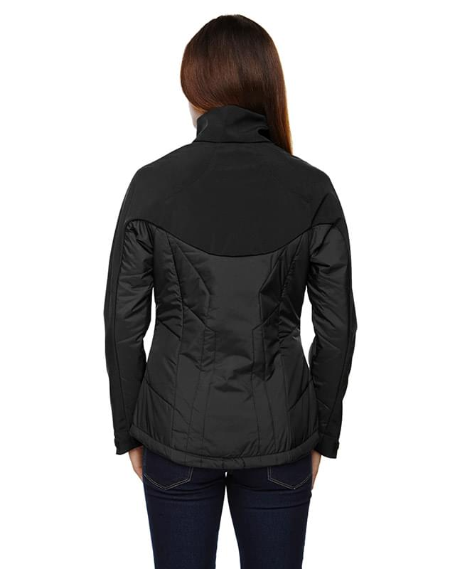 Ladies' Innovate Insulated Hybrid Soft Shell Jacket