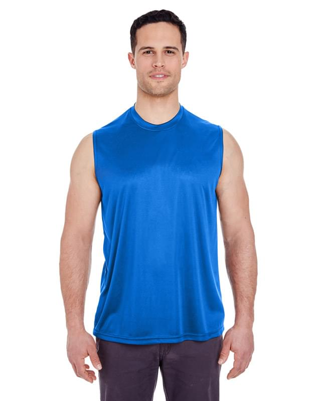 Adult Cool & Dry Sport Performance Interlock Sleeveless T-Shirt