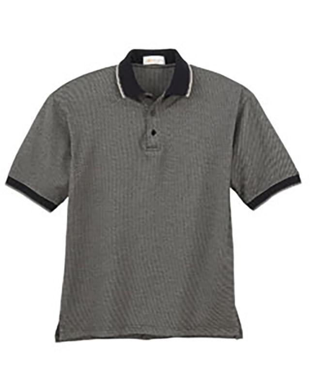 Men's Pebble Jacquard Polo