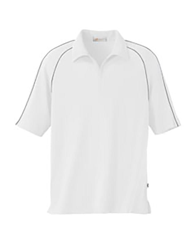 Men's Tactel? Pique Half Zip Raglan Polo