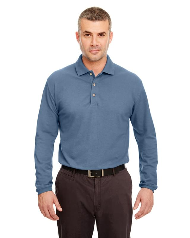 Adult Long-Sleeve Classic Piqu Polo