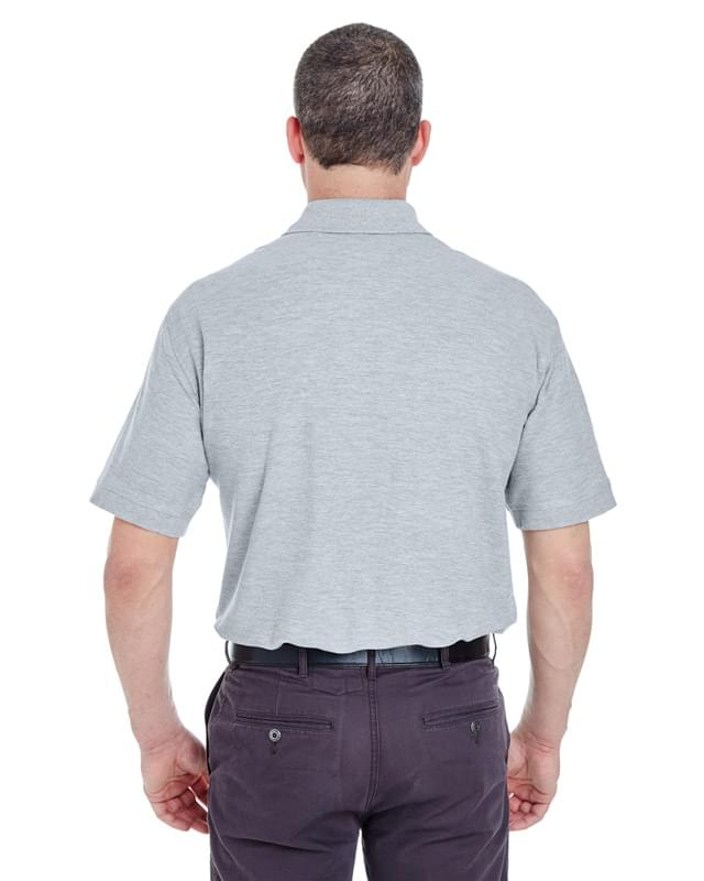 Adult Whisper Piqu Polo with Pocket
