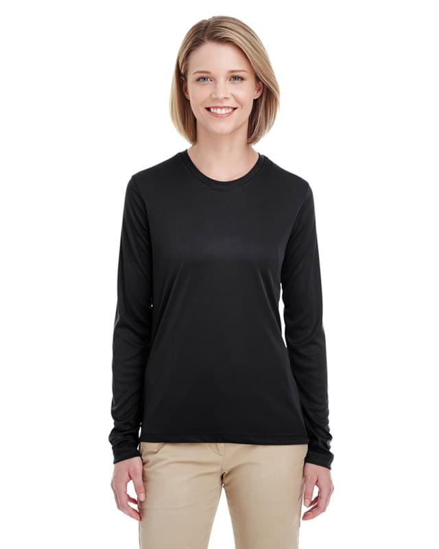 Ladies' Cool & Dry Performance Long-Sleeve Top