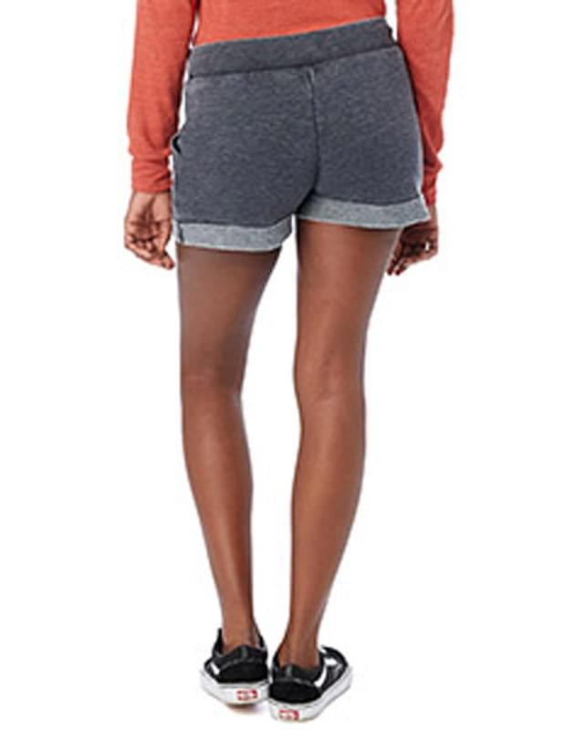 Ladies' Lounge Burnout French Terry Shorts