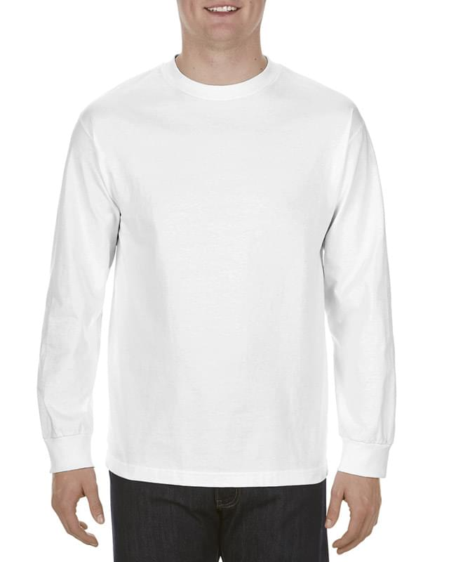 Adult 5.1 oz., 100% Soft Spun Cotton Long-Sleeve T-Shirt