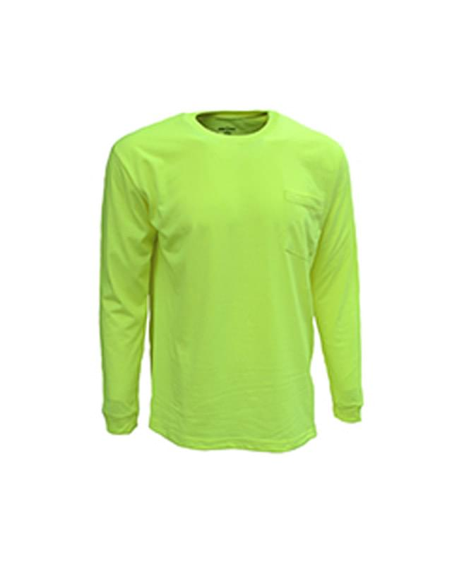 Adult Long-Sleeve Pocket Tee