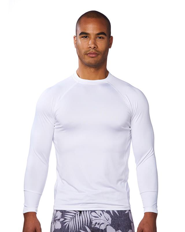 Men's Long-Sleeve Rash Guard Shirt