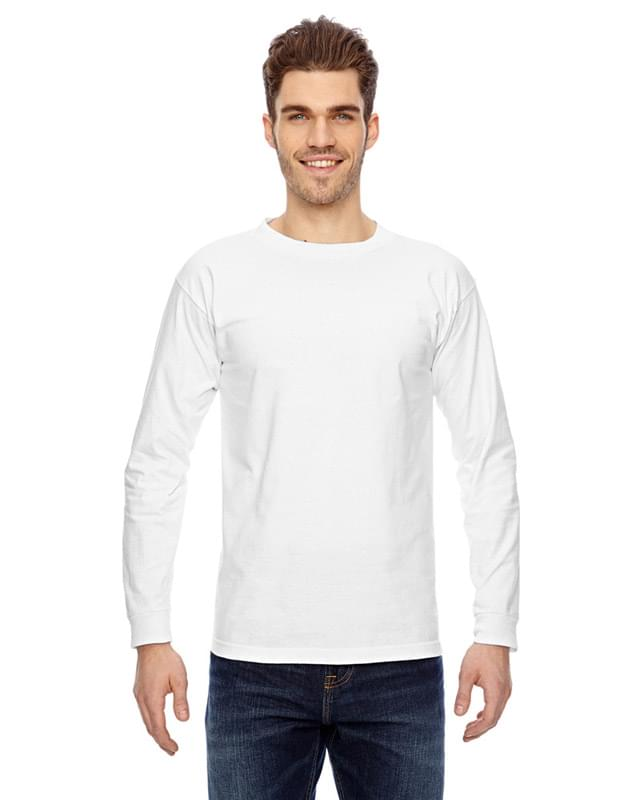 Adult 6.1 oz., 100% Cotton Long Sleeve T-Shirt