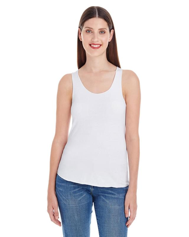 Ladies' Poly-Cotton Racerback Tank