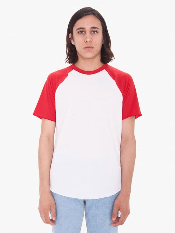 Unisex Poly-Cotton Raglan T-Shirt