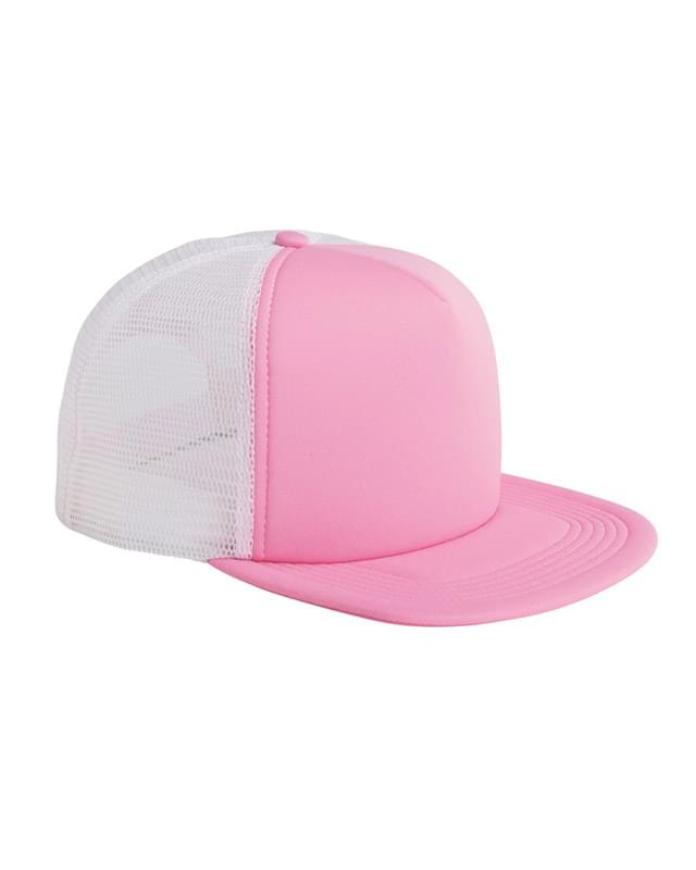 5-Panel Foam Front Trucker Cap